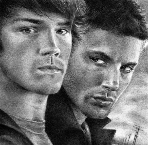 graphite drawing actors by nick tortillon