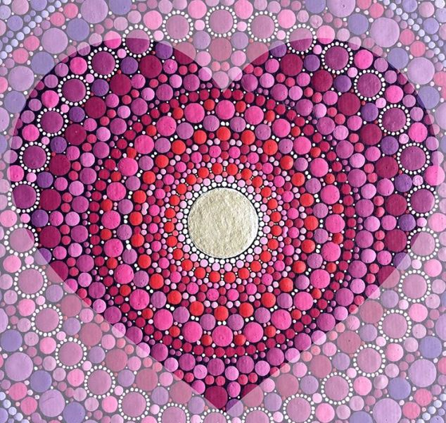 14 painted stones by elspeth mclean