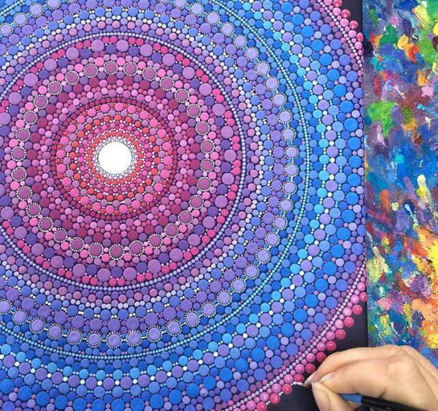 15 painted stones by elspeth mclean