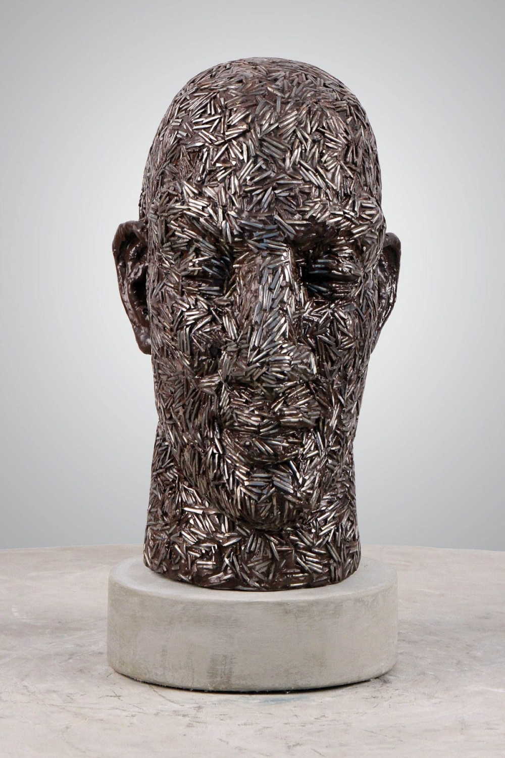 sculpture face anton smit