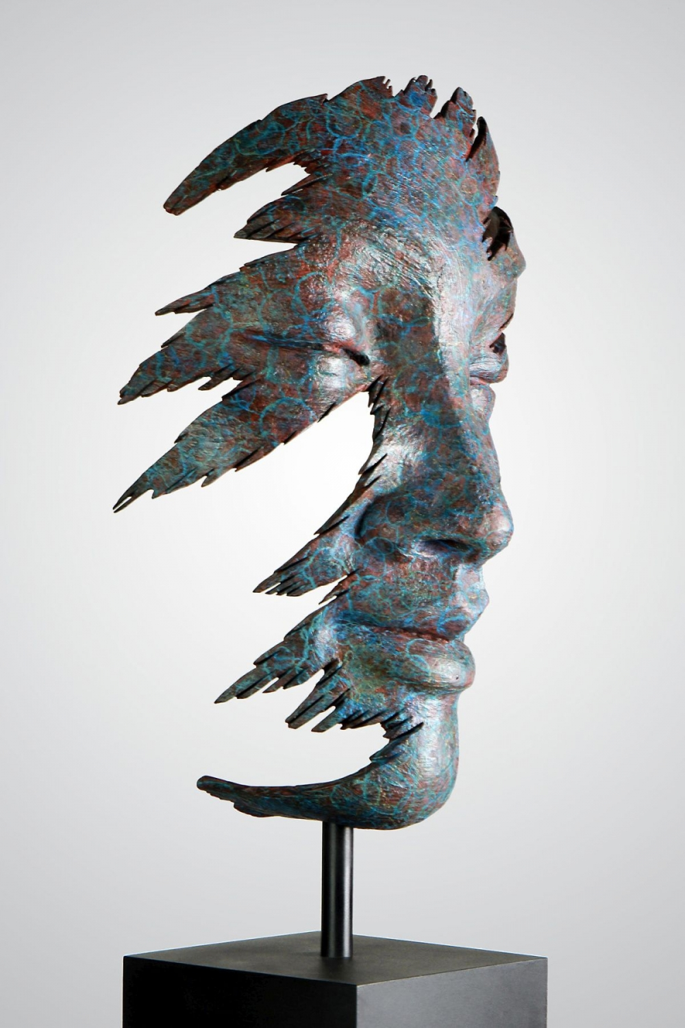 7 sculpture face anton smit
