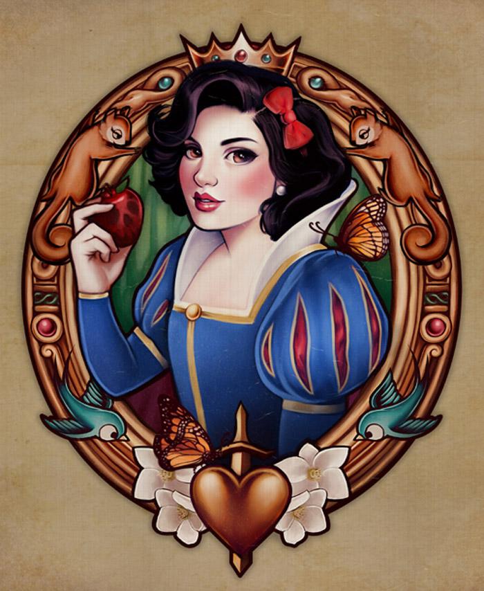 retro illustration art by megan lara