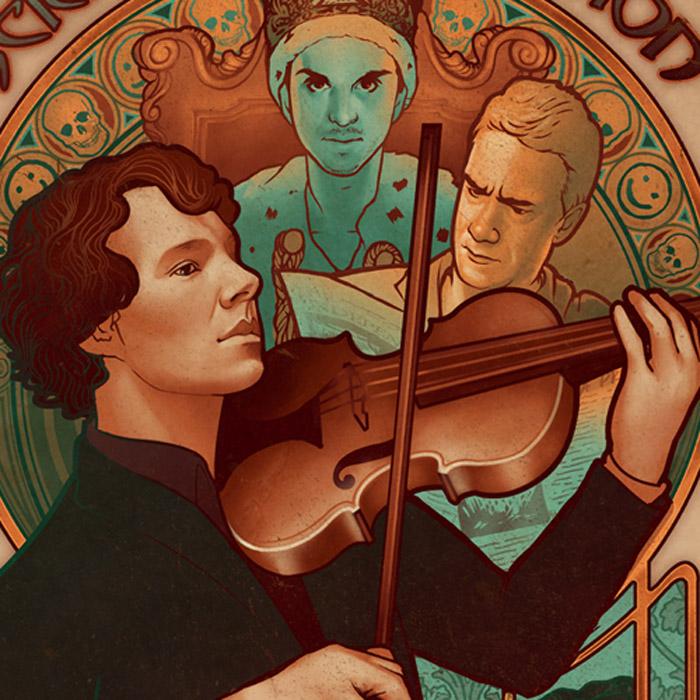 celebrity illustration art musician by megan lara