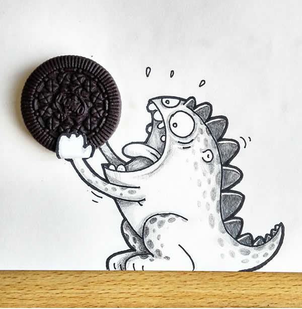 11 funny drawing by drogo manik ratan | Funny Drawings by Drogo of ...
