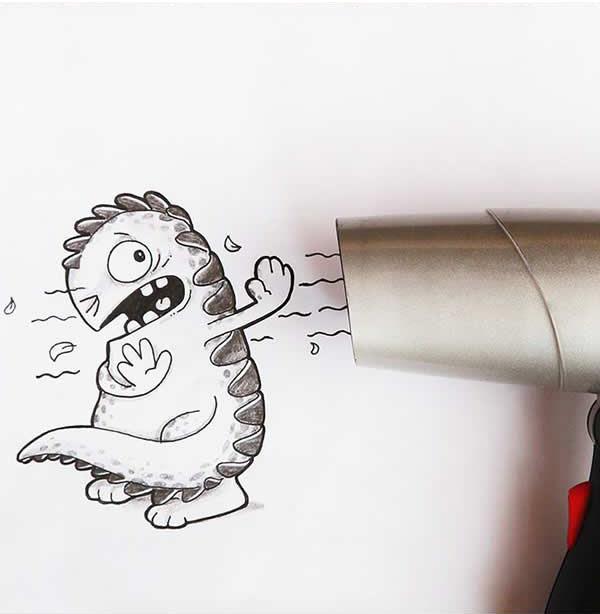 16 funny drawing by drogo manik ratan