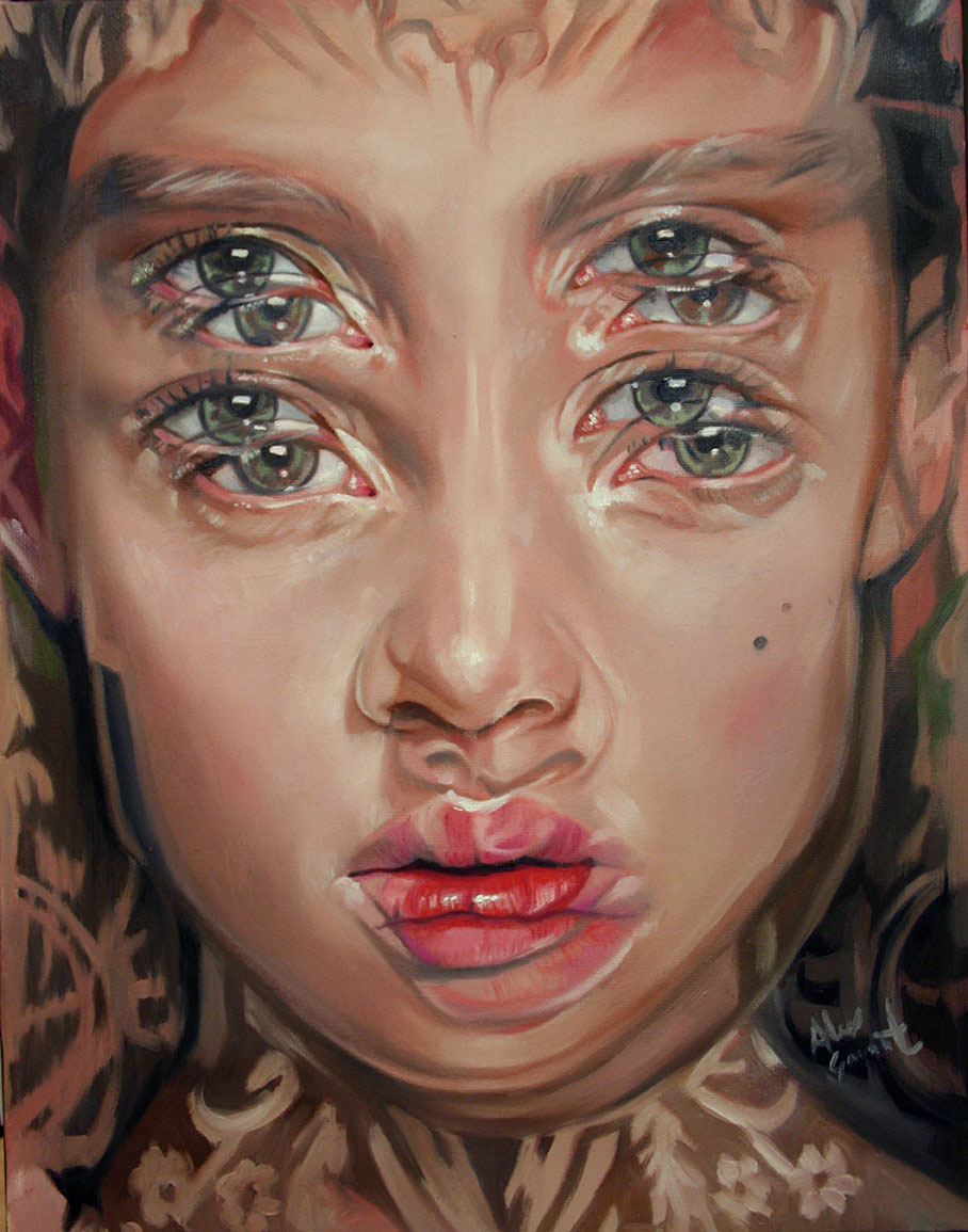 19 paintings by alex garant