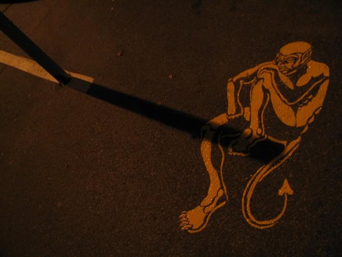 street art by peter gibson