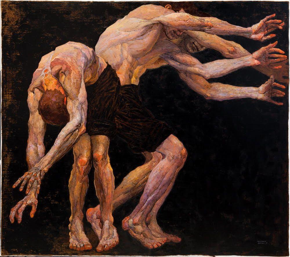 painting dance denis sarazhin