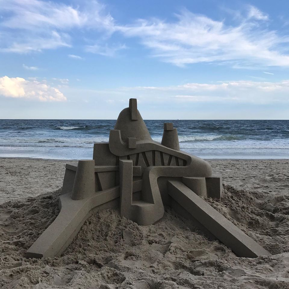 sand sculpture egyptian by calvin seibert
