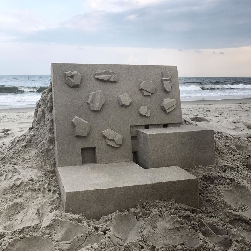 sand sculpture modern by calvin seibert