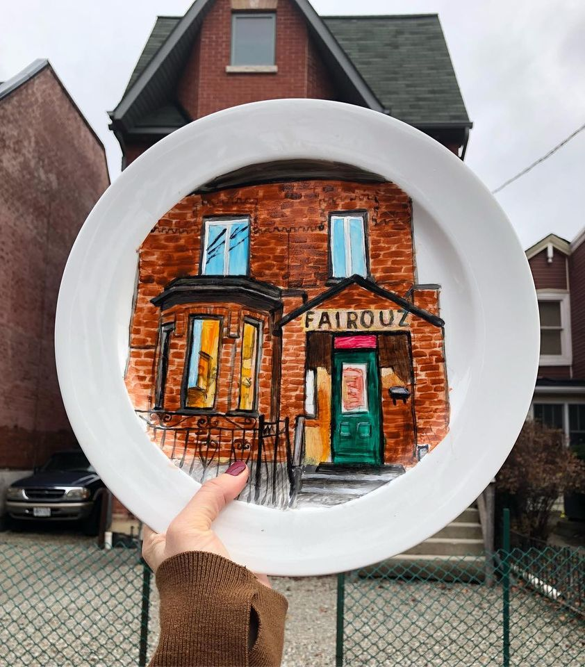 5 painting house by jacqueline poirier