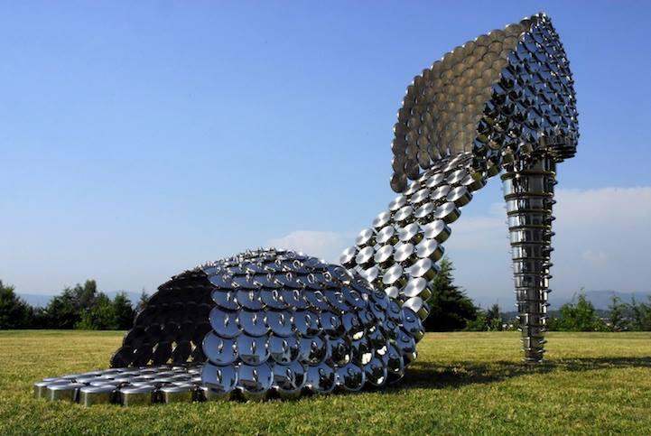 garden sculpture by joana