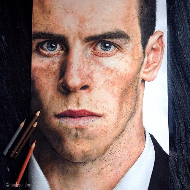 man color pencil
