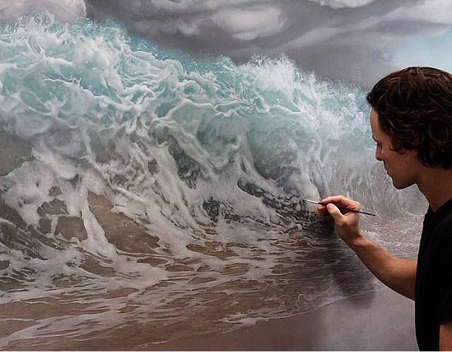 sea painting by joelrea