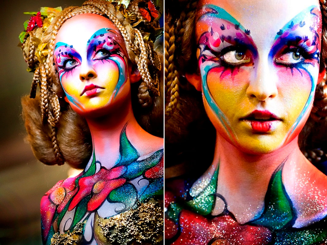 1 body paintings
