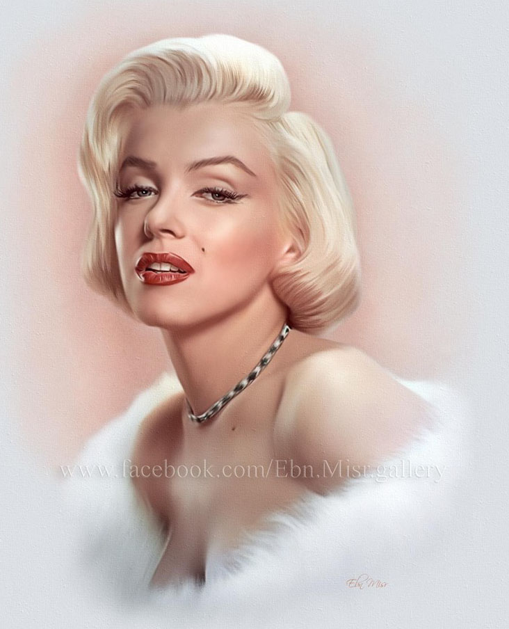 famous personality angelena painting