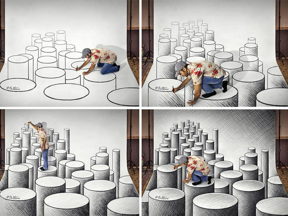 3d drawing idea