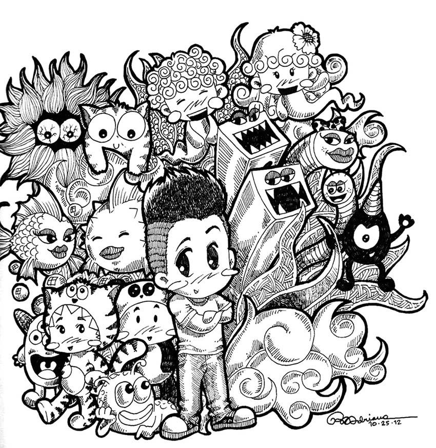 1 doodle artwork