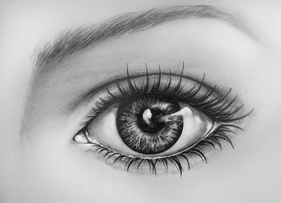 1 eyes drawings realistic eye