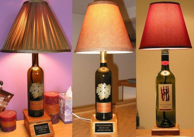 diy inspiration bottle lamp