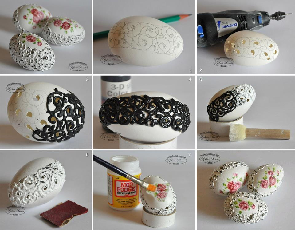 diy inspiration ideas easter egg