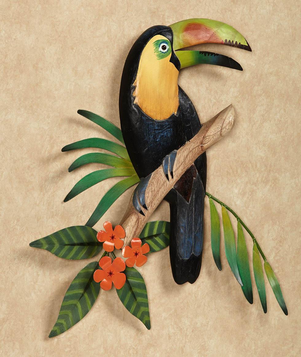 wall sculpture bird