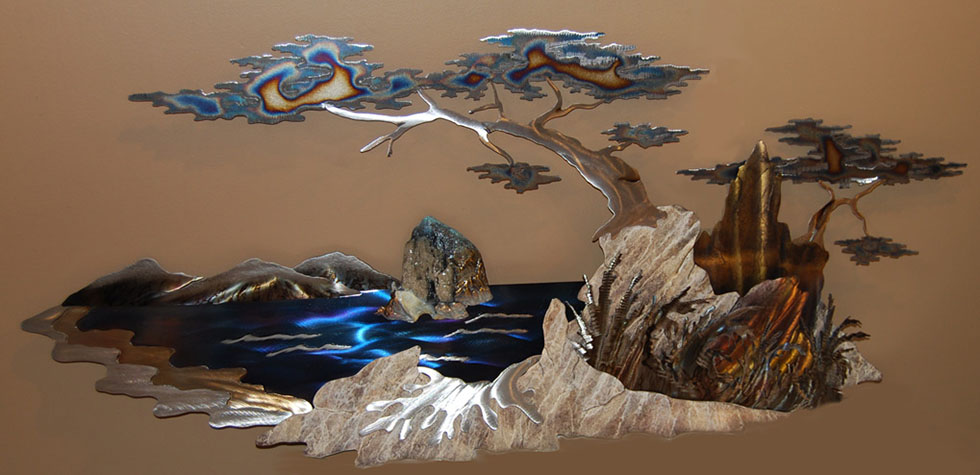 wall sculpture nature