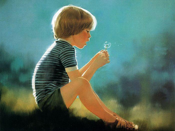 boy oil paintings