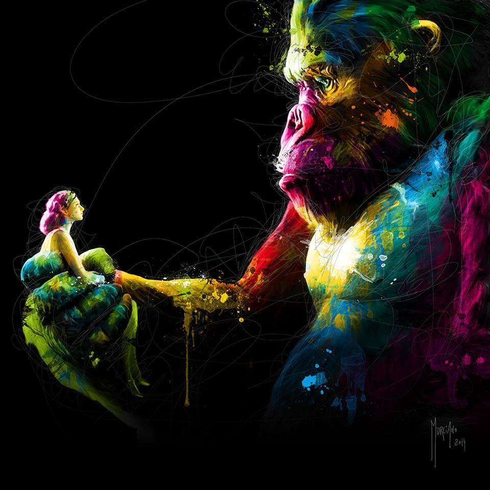 gorila paintings