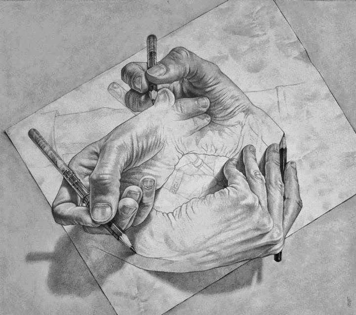hand 3d drawings