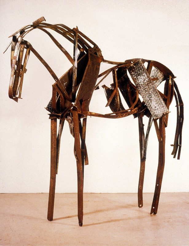horse constructed sculptures