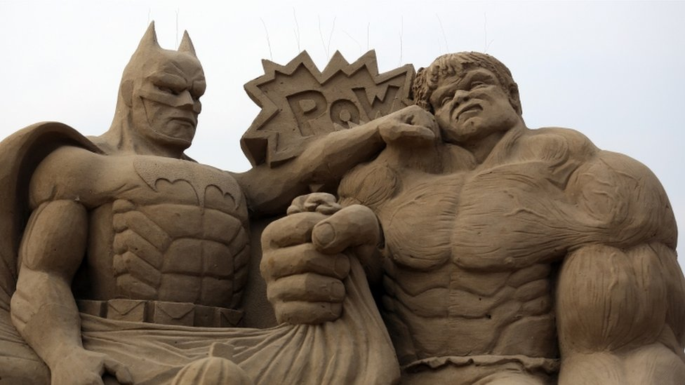 hulk sculptures