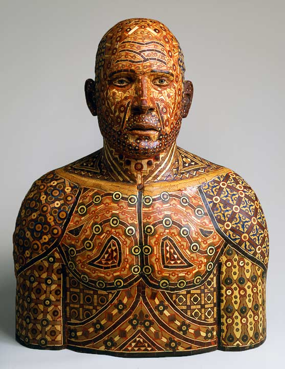 human wood sculpture