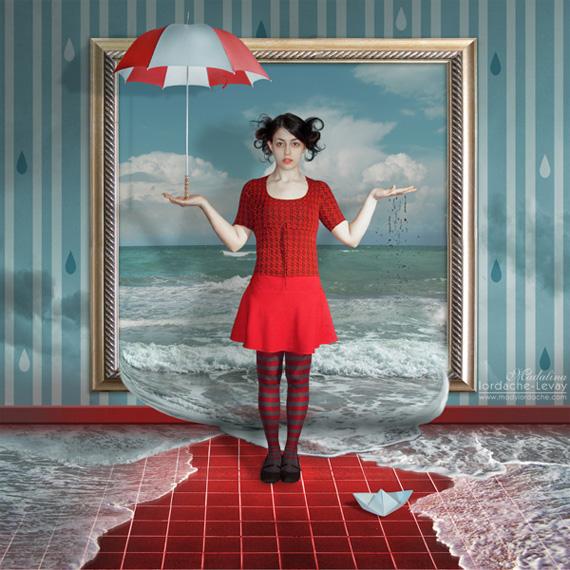 rain spell surreal art