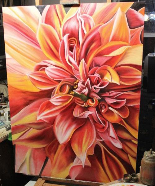 1 flower paintings
