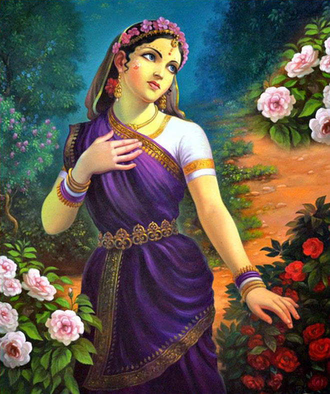 1 indian painting woman