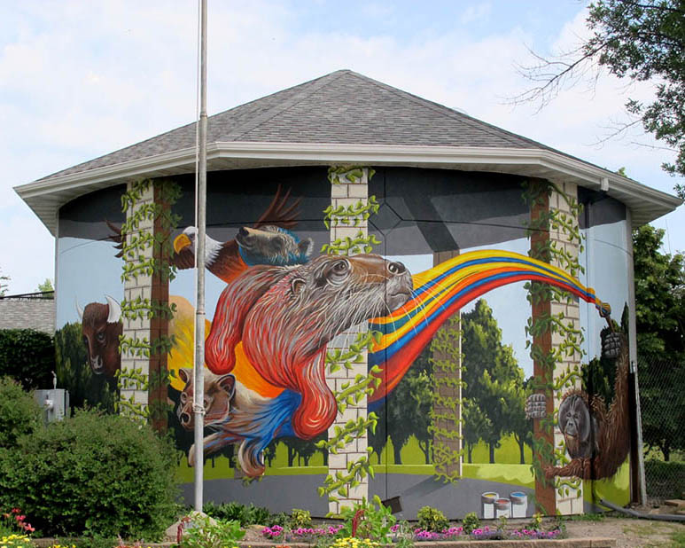 10 3d wall mural paininting