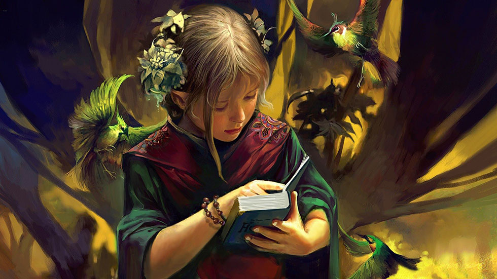 children book fantasy art -  10