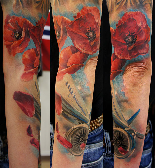 flower tattoos women grimmy -  10