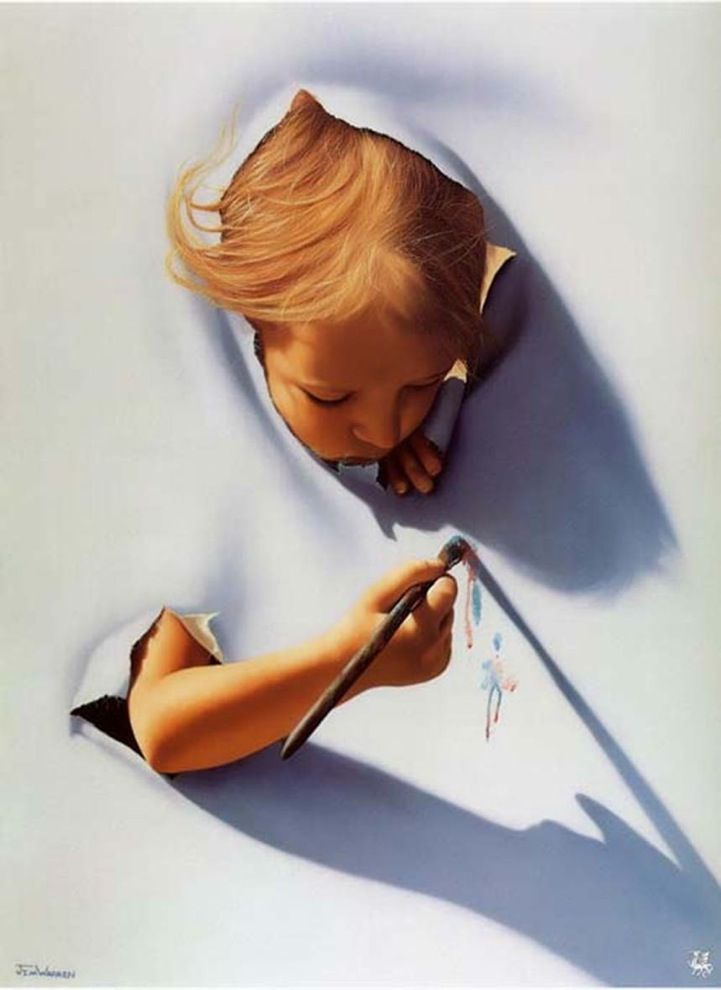 10 kid surreal art by jim warren