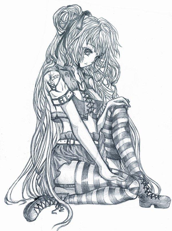10 manga drawings