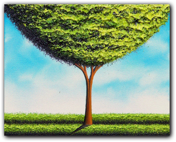 10 tree paintings