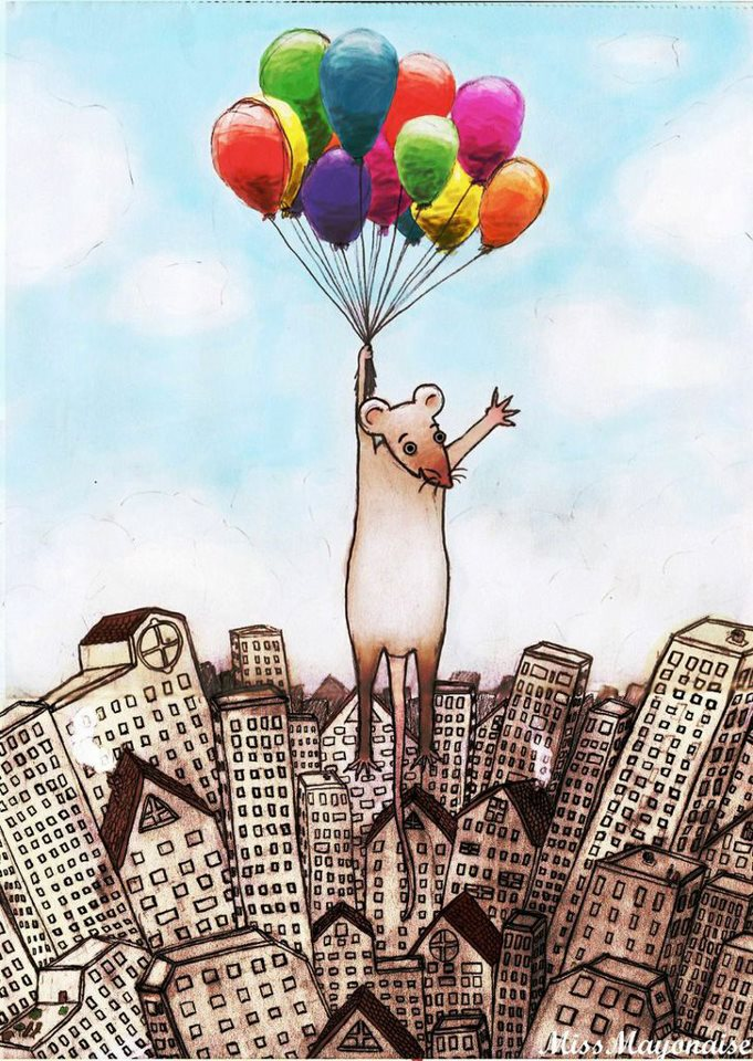 balloons funny drawings -  11