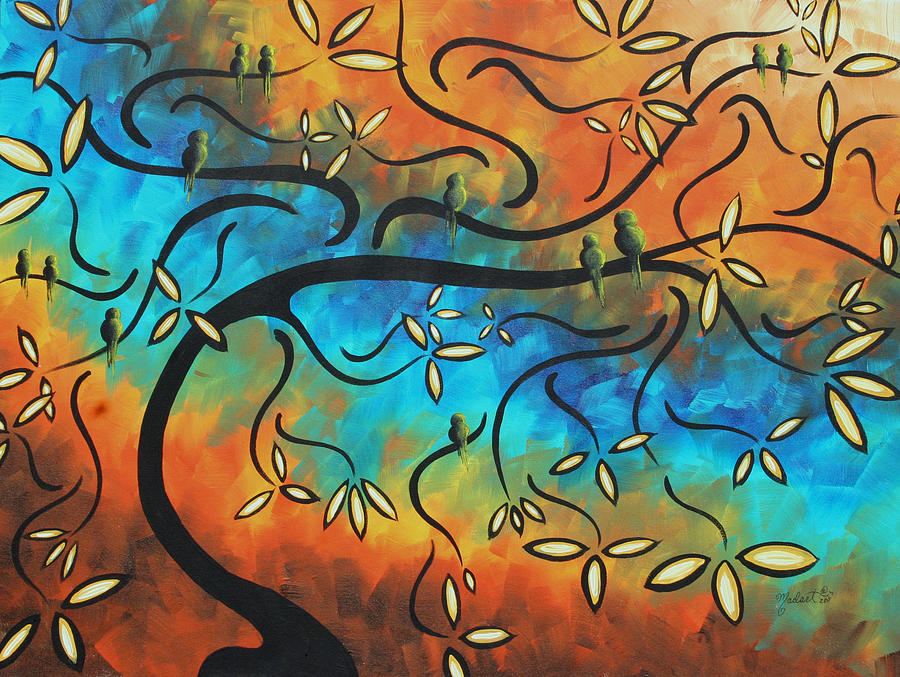 11 tree painting by megan