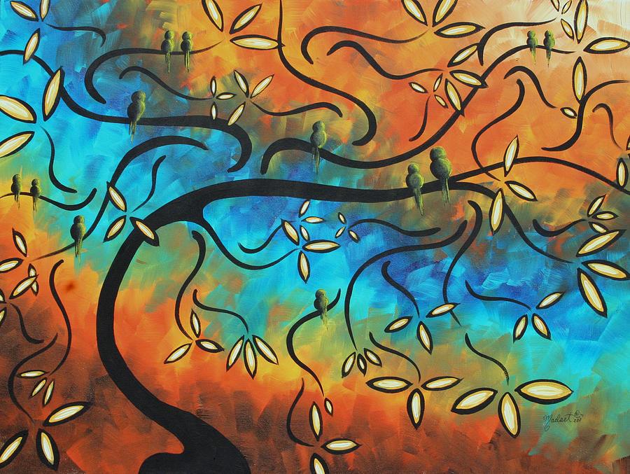 11 tree painting