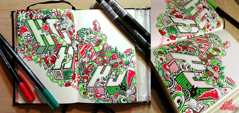 12 doodle art by lei melendres