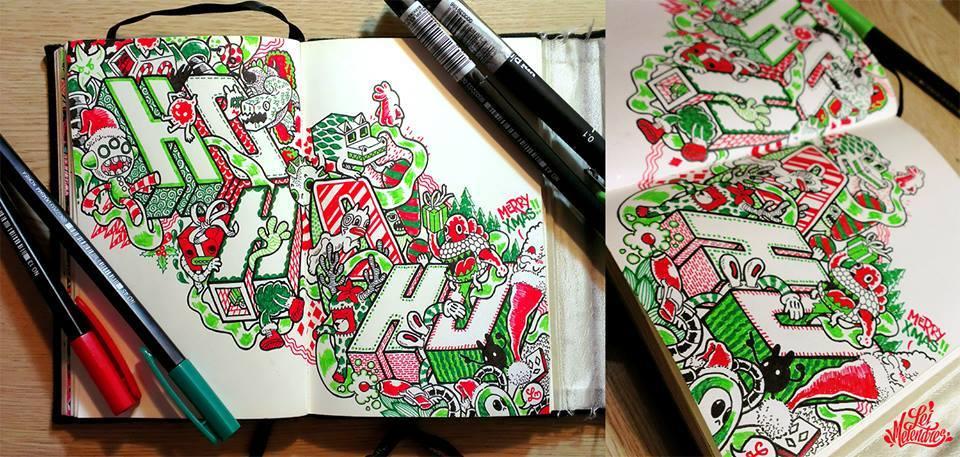12 doodle art