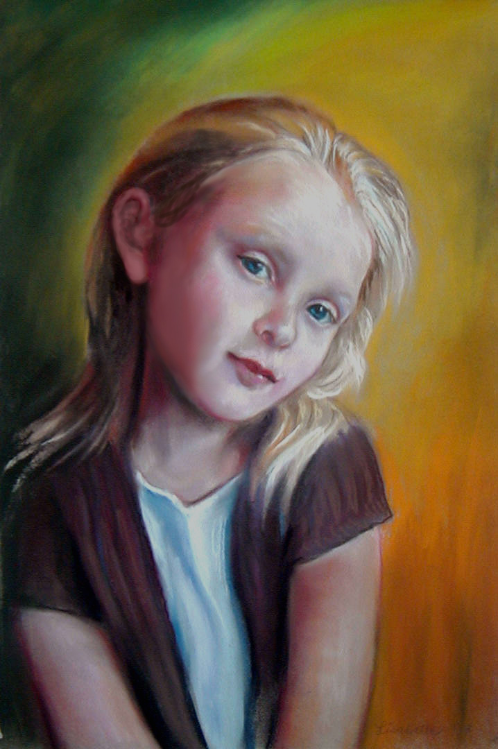 12 pastel painting