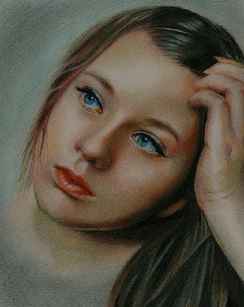 12 serena realistic drawing