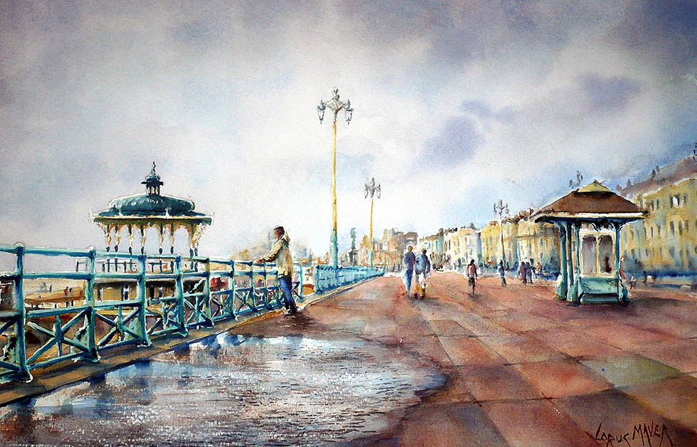 12 water colour paintings by william bovington